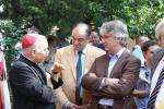 L'arcivescovo Andrea Bruno Mazzocato con l'Assessore Roberto Molinaro e l'on. Renzo Tondo