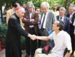 L'Arcivescovo Andrea Bruno Mazzocato e il presidente Sandro Dal Molin